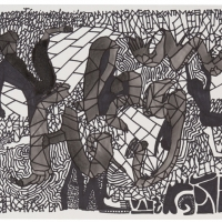 interminaveis-conversas-telefonicas-2-27x35cm-chinese-ink-and-permanent-ink-on-cotton-paper